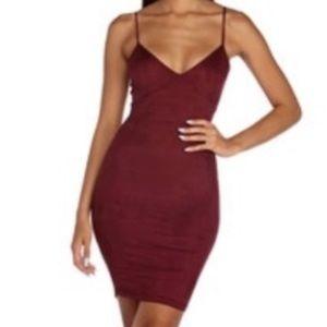 Bodycon Velvet Dress